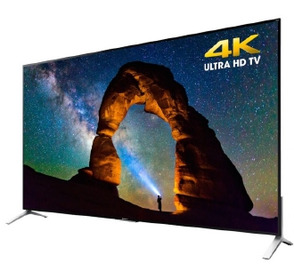 4K TV on stand